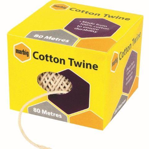 MARBIG COTTON TWINE BALL 80M - 9312311189994