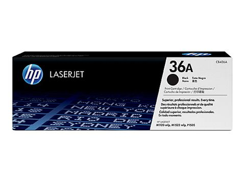 DYN-CB436AD HP #36A TONER CARTRIDGE TWIN PACK - 2 X 2000 PAGES  - CQS1