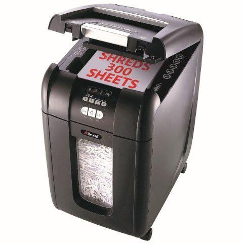 REXEL SHREDDER STACK&SHRED AUTO+300X CROSS CUT - cqs5 - 9310924038555