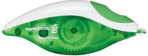 PAPERMATE DRYLINE GRIP CORRECTION TAPE SINGLE PACK
