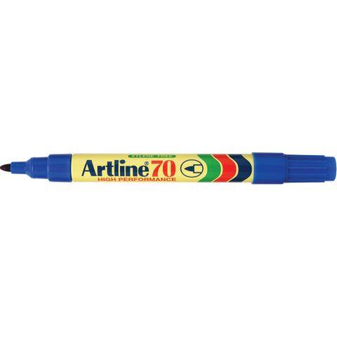 ARTLINE 70 PERMANENT MARKER BULLET TIP BLUE  - 4974052801525