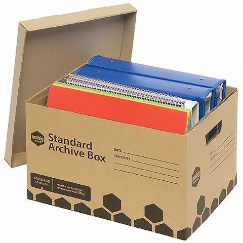 MARBIG ARCHIVE BOX ENVIRO STANDARD    420(L) x 315(W) x 260(H)mm  -