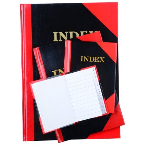 RED/BLACK A5100I A5 INDEX 100LF