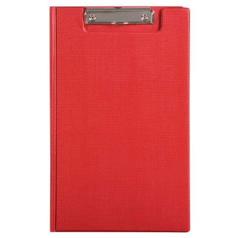 MARBIG CLIPFOLDER PE FOOLSCAP RED - 9312311430133