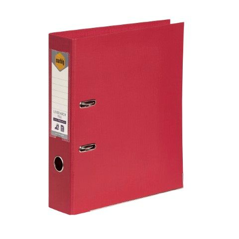 LEVER ARCH FILE PE A4 DEEP RED MARBIG-CQS15 - 9312311205786