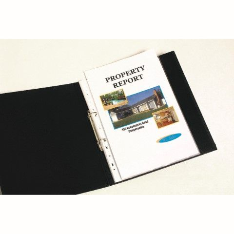 SHEET PROTECTORS A4 PK300 LIGHTWEIGHT  ECONOMY MARBIG