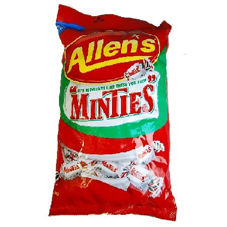 ALLENS MINTIES 1KG BAG