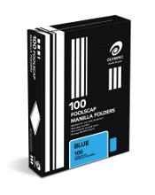 OLYMPIC MANILLA FOLDER F/C BLUE BX100