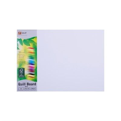 QUILL BOARD 200 GSM A3 PK25