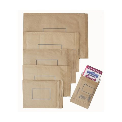 JIFFY PADDED MAILER P1 150X225MM  PK10 - 5051146016337