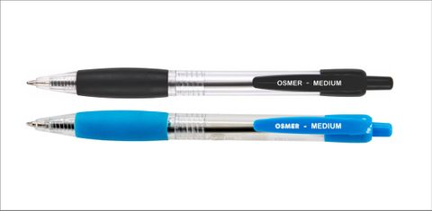 OSMER BALLPOINT PEN BLACK