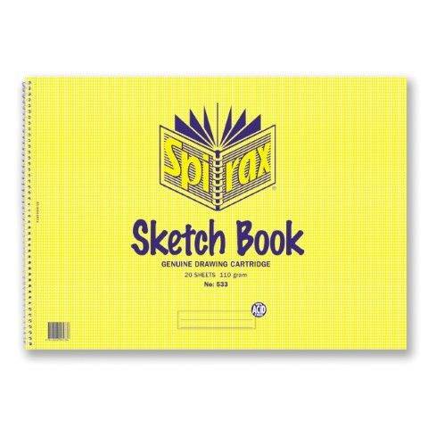 SPIRAX 533 SKETCH BOOK A3 - 9312828005336