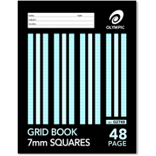OLYMPIC GRID BOOK 225x175 48P 7mm G2748