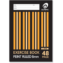 OLYMPIC EXERCISE BOOK A4 48P 8mm E848