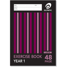 OLYMPIC EXERCISE BOOK A4 48P YR1 EY14