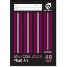OLYMPIC EXERCISE BOOK A4 48P YR3/4 EY34