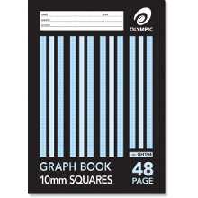 OLYMPIC GRAPH BOOK A4 48P 10mm GH104