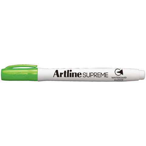 ARTLINE SUPREME LIME GREEN WHITEBOARD MARKER 1.5MM