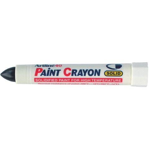 ARTLINE 40 PAINT CRAYON BLACK (BX12 BUY ONLY)