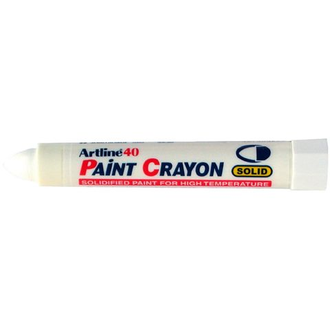 ARTLINE 40 PAINT CRAYON WHITE