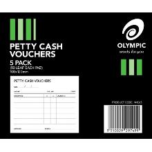 OLYMPIC PETTY CASH VOUCHER