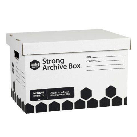 MARBIG STRONG ARCHIVE BOX STRONG -CQS9 - 9312311150819