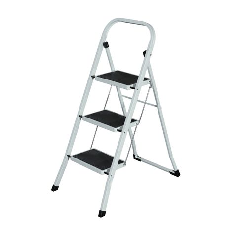 LADDER 3 STEP FOLDABLE I151 HOLDS UP TO 130KGS