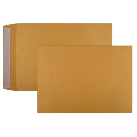 CUMBERLAND ENVELOPE STRIP SEAL HEAVY GOLD POCKET 405X305MM BOX250
