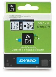 DYMO TAPE D1  19MMX7M BLACK ON WHITE