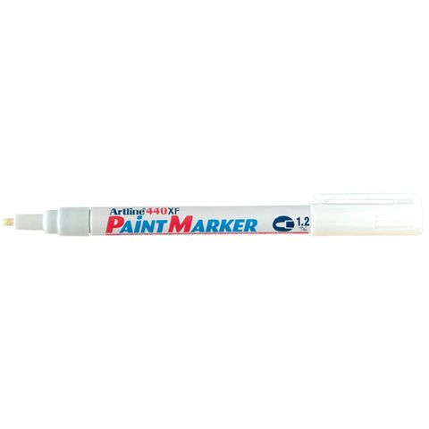 ARTLINE 440 PAINT MARKER WHITE 1.2MM - 4974052820618