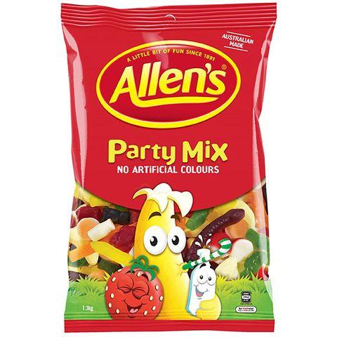 ALLENS PARTY MIX 1.3KG BAG