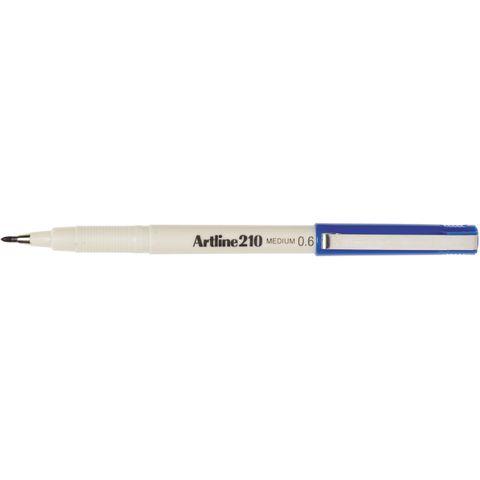 ARTLINE 210 MARKER 0.6MM BLUE -