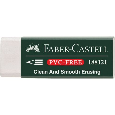 FABER CASTELL SMALL ERASER PVC FREE