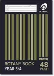 OLYMPIC BOTANY BOOK A4 48PG YR3/4 TY34I