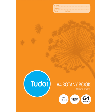 TUDOR BOTANY BOOK A4 64PG T186I