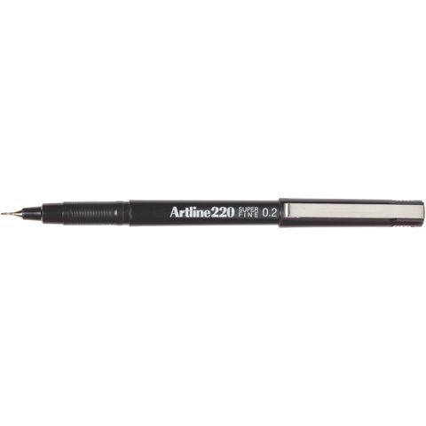 ARTLINE 220 BLACK FINELINER PEN 0.2MM
