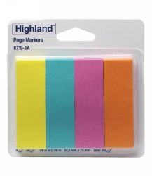 HIGHLAND 6719-4A PAGE MARKERS