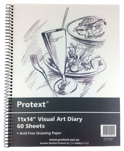 PROTEXT VISUAL ART DIARY A3