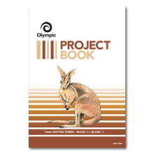 OLYMPIC PROJECT BOOK 14MM DOTTED THIRDS 24PAGE  140844