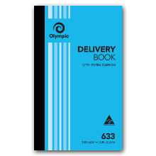 OLYMPIC 633 CARBON BOOK - DUPLICATE DELIVERY