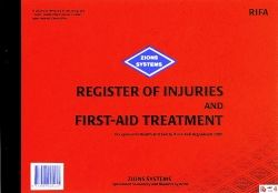 REGISTER OF INJURIES & FIRST AID -  ZIONS RIFA