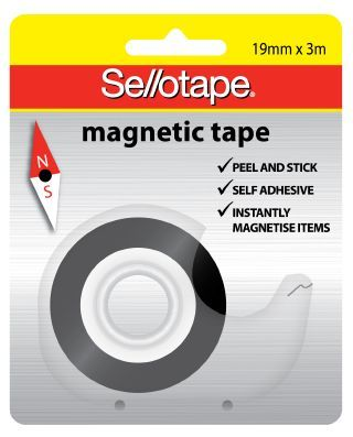 MAGNETIC TAPE SELLO 19MM X 3M ON DISPENSER