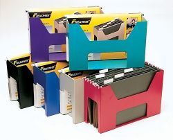 DESKTOPPER FELLOWES BLACK COMPLETE WITH FILES