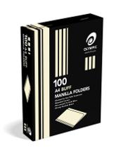 A4 MANILLA FOLDER OLYMPIC BUFF BOX 100