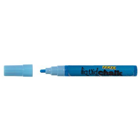 BULLET DRY WIPE BLUE TEXTA LIQUID CHALK MARKER-cqs15 - 9311960387959