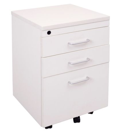 RAPID VIBE MOBILE PEDESTAL 2 DRAW 1 FILE GREY