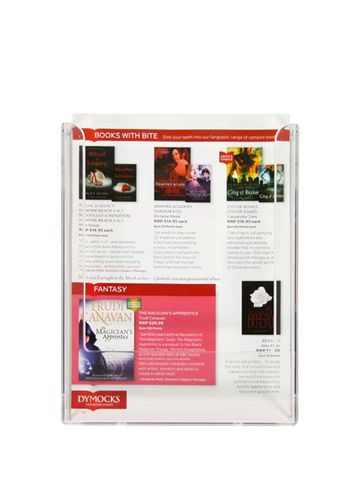 EXPANDA-STAND V156 A5 WALL MOUNT BROCHURE HOLDER