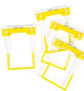 AVERY TUBECLIP BX500 YELLOW  COMPLETE