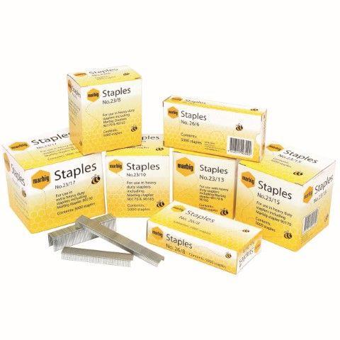 MARBIG STAPLES NO. 26/8 5000BX NO 26/8 BOX 5000 -CQS14 - 9312311245775