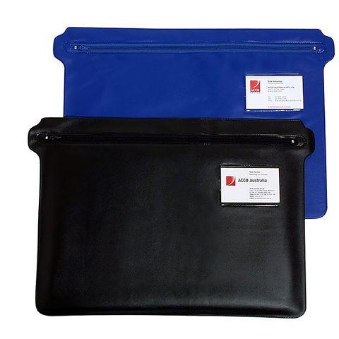 MARBIG CONVENTION CASE ZIPPERED BLUE / BLACK - 9312311900810